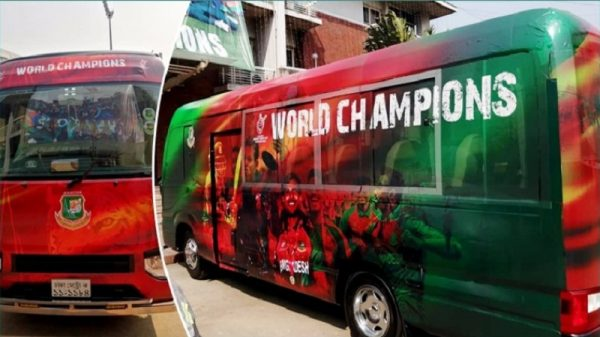 world champions bus